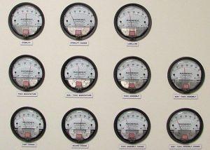 Gauage monitoring panel
