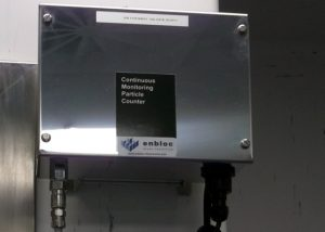 Particle monitoring counter