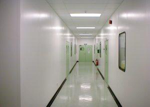 cleanroom corridor