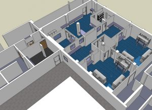3D image from concept design