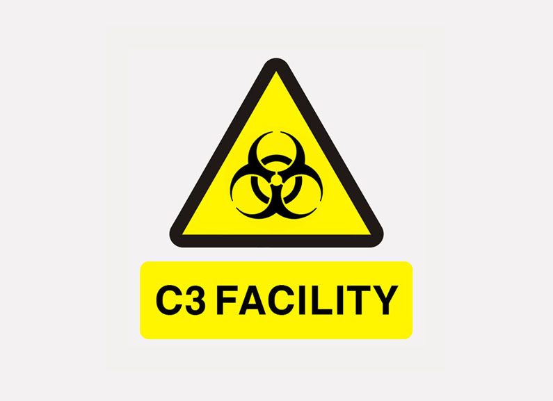 C3 Facility sign